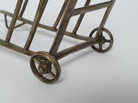 Exceptionally Rare SP Toast Rack Formed as a Barrow Boys Trolley c1920 (4 of 11)
