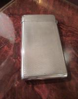 Victorian Silver Engine Turned Card Case (4 of 6)