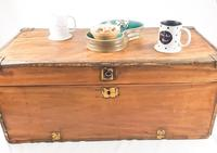 19th Century Camphor Wood Trunk Brass Fittings (5 of 7)
