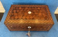 Victorian Inlaid Parquetry Rosewood Box (2 of 12)