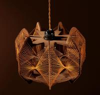 Very Decorative & Stylish Art Illuminated Sculpture in the Style of Naum Gabo (4 of 6)