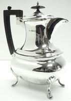 Impressive 5 Piece Silver Tea & Coffee Set Walker & Hall Sheffield 1917 (16 of 17)