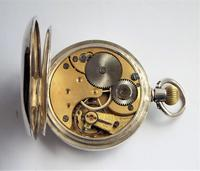 Antique  Silver  Omega Pocket Watch (5 of 5)