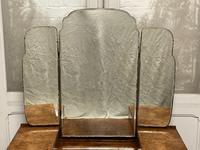 Stylish Art Deco Burr Walnut Dressing Table (2 of 20)
