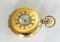 Waltham Vanguard Rail Road Grade Half Hunter Pocket Watch (2 of 5)