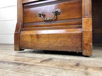 Edwardian Cylinder Roll Top Bureau Desk (11 of 13)