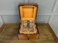 Victorian Rosewood Decanter Box (4 of 14)