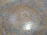 Fine LRI Borrowdale Arts & Crafts Hand Beaten Copper Bowl c1910 (6 of 6)