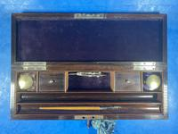 Victorian Rosewood Nickel Silver Bound Writing Box (11 of 16)