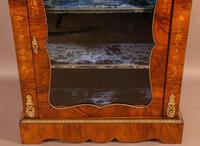 Victorian Pier Cabinet in Burr Walnut (3 of 8)