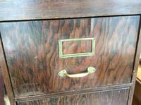 Antique Wooden Filing Cabinet (6 of 9)