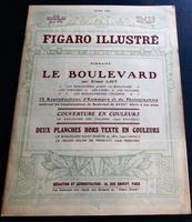 1910 Figaro Illustre Original French Journal Numerous Prints, Motoring Adverts  Unusual Folio Size Prints (2 of 5)