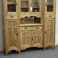 Very large antique dresser with glazed display cupboards (3 of 9)