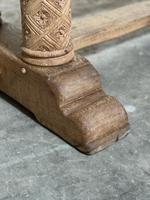 Extremely Rare Large Oak Refectory Table (12 of 35)