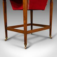 Antique Drop Leaf Sewing Table, English, Rosewood, Side, Lamp, Regency c.1820 (12 of 12)