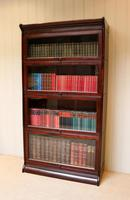 Mahogany Four Tier Stacking Bookcase (3 of 10)