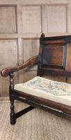 Late 17th / Early 18th Century Settle (6 of 10)