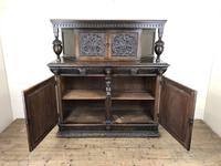 Antique 19th Century Carved Oak Court Cupboard (22 of 24)