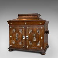 Antique Gentleman's Correspondence Box, Campaign, Travel Case, Regency, C.1820 (8 of 12)