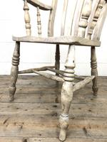Victorian Ash and Elm Country Armchair (8 of 10)