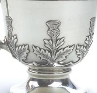 Fine & Rare Scottish Solid Silver Small Tankard by Hamilton & Inches c.1922 (2 of 9)