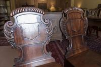 Pair of Late Regency Hall Chairs (2 of 3)
