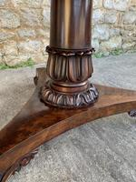Exceptional Quality Regency Flame Mahogany Centre Table (5 of 10)