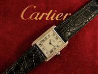 Cartier Diamond Tank Watch (2 of 4)
