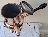 Antique English Late Georgian Copper Coffee Pot (6 of 7)