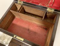 Victorian Rosewood Inlaid Vanity Box (9 of 14)