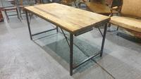 Fabulous Pine Trestle Kitchen Table (6 of 11)