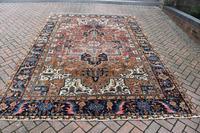 Old Heriz roomsize carpet 338x241cm (3 of 5)