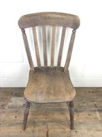 Set of 4 Antique Ash & Elm Farmhouse Chairs (8 of 8)