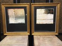 Pair of Mid 20th Century Abstract Studies, Signed (3 of 8)