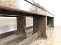 Pair of Antique Oak Refectory Benches (5 of 12)