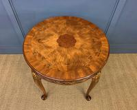 Burr Walnut Centre Table by Waring & Gillow (8 of 10)