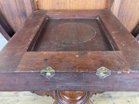 Victorian Mahogany Oval Tilt Top Table (6 of 12)