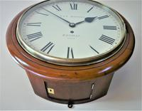"""Fabulous 12"""" English Fusee Dial Timepiece by Thomas & Edmund Rhodes 1868 (4 of 9)"""
