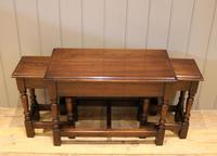 Solid Oak Nest of Tables (4 of 11)