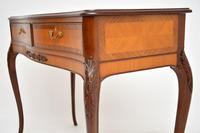 Antique French Style Inlaid Rosewood Console Table (7 of 11)