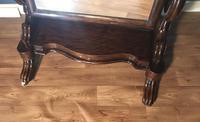 Victorian Walnut Cheval Mirror (8 of 12)