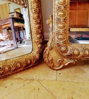 Pair of Italian Large Gilt Mirrors (7 of 10)