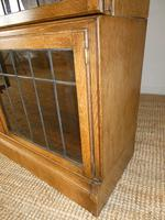 Pair of Oak 1920s Bookcases (3 of 12)