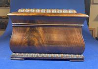 William IV Flame Mahogany Jewellery Box (6 of 20)