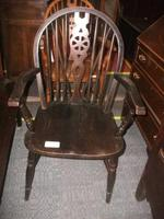 Wheelback Arm Chair
