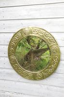 Arts & Crafts Movement Scottish / Glasgow School Circular Wall Mirror c.1900 (13 of 24)