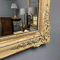 Very Large French Paint & Gilt Mirror (4 of 9)