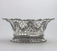 Extremely Good Solid Silver Pierced Basket / Bowl by Golds c.1899 (5 of 10)
