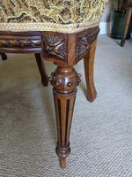 Set of Four Victorian Walnut Dining Chairs (5 of 6)