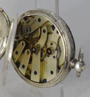 Ladies Victorian Silver Pocket Watch (3 of 3)
